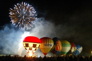 Thousands of people are expected to attend this year's Big Baloon Festival - if the weather holds.