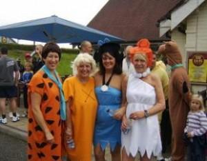 Some of last year's Megathon runners in fancy dress.