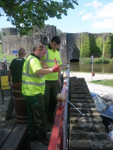 Caerphilly's 'Tidy Towns - Tidy Places' team has been shortlisted for the Tidy Wales Awards.