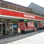The former Woolworths in Bargoed.