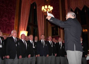 Aber Valley Male Voice Choir celebrated its 50th anniversary with a special performance at the House of Commons.