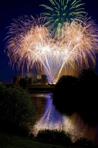 This year's Caerphilly Castle firework display promises to be the best ever. Picture by www.markel-photography.co.uk