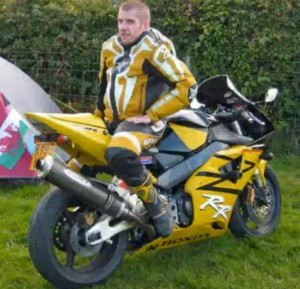 David Furness, 34, of Abertridwr, who was killed on October 3 in a motorcycle accident.