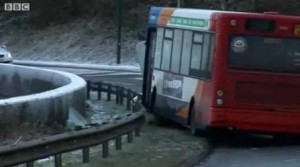 The crash with the Stagecoach bus happened just after 10.50am on January 2.