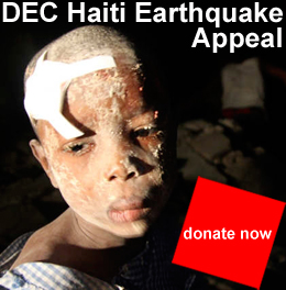 Donate to the Haiti appeal by visiting www.dec.org.uk