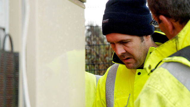 Rhod Gilbert becomes a binman in his TV series Work Experience.