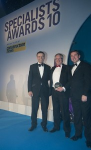 The SCS Group, based in Tredomen, has won the Fire Protection Specialist category at the Construction News Specialists Awards.