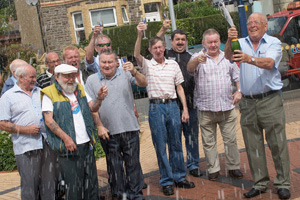The 20-strong syndicate from Ystrad Mynach Non-Political Club scooped £91,820 on the Lotto