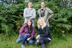 Wildlife tours in Caerphilly County Borough are being offered by company Eco-explore
