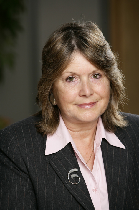 Cilla Davies, chair of Gwent Police Authority