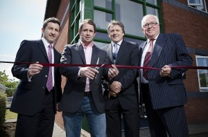 Thomas Carroll Swansea office launch.