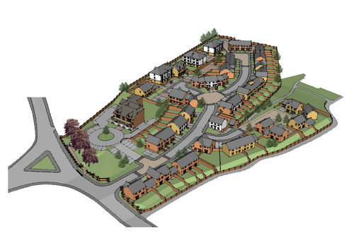 Plans for housing estate on Caerphilly Miners\' Hospital site to go ...