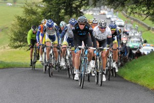 Riders taking part in stage one of the 2011 Tour of Britain - Picture: Tour of Britain