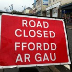 Road closures in Caerphilly town have driven trade away, according to local businesses