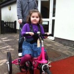 Grace Yendle Davies and her new trike
