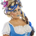 Alice in Wonderland: Work of Rebecca Perkins (18, Crumlin) – 2nd place hairdressing – Musicals competition