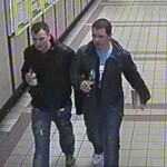 Two men wanted by police in connection with an assault at Cardiff Queen Street Station