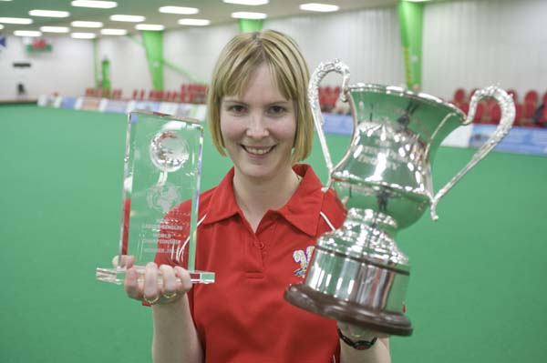 Laura Williams from Wales - the WIBC 2012 Ladies Singles Champion