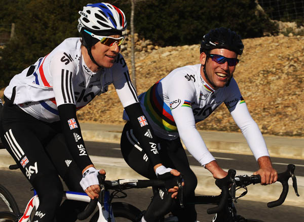 Bradley Wiggins and Mark Cavendish will be riding in the Tour of Britain 2012