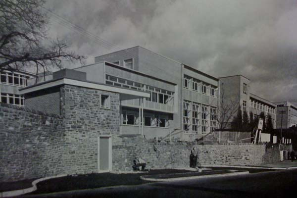 The University of Glamorgan, or the Glamorgan College of Technology as it was known then, in 1963