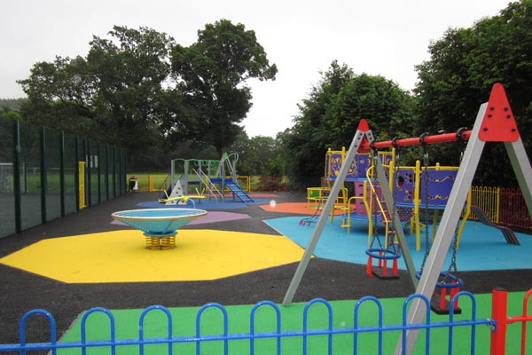 The new play area at Machen Welfare Ground, on Tyn Y Waun Road.jpg