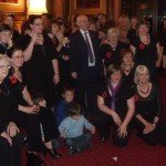 Cefn Hengoed Ladies' Choir celebrate their 65th anniversary