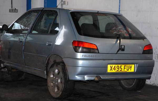 Kyle Vaughan's car recovered by police on December 30