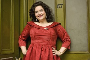 Ruth Jones, here pictured as actress Hattie Jacques, will be in Bedwas on May 11 to launch a charity walk in aid of the Lullaby Trust