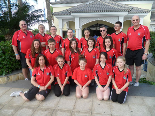 Caerphilly County Swim Squad's selection for national events at Gemau Cymru