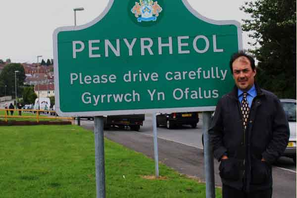 Gareth Pratt is standing for Labour in the Penyrheol ward council by-election