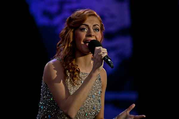 Sophie Evans wowed the crowds at BBC Proms in the Park on Saturday - Picture by Carl Jones