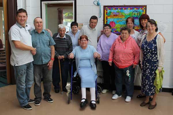 Members of Rhymney-based Gwerin Day Service