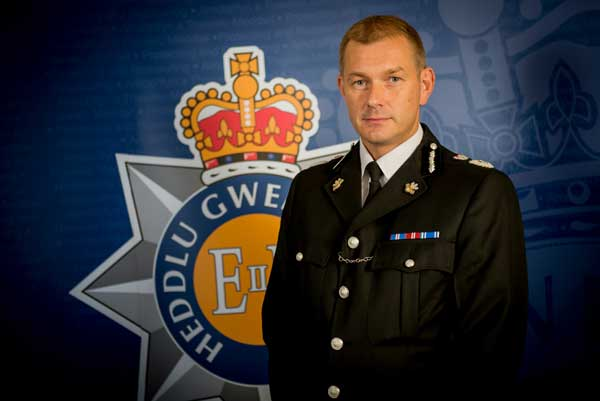 Jeff Farrar, Gwent Police's Chief Constable