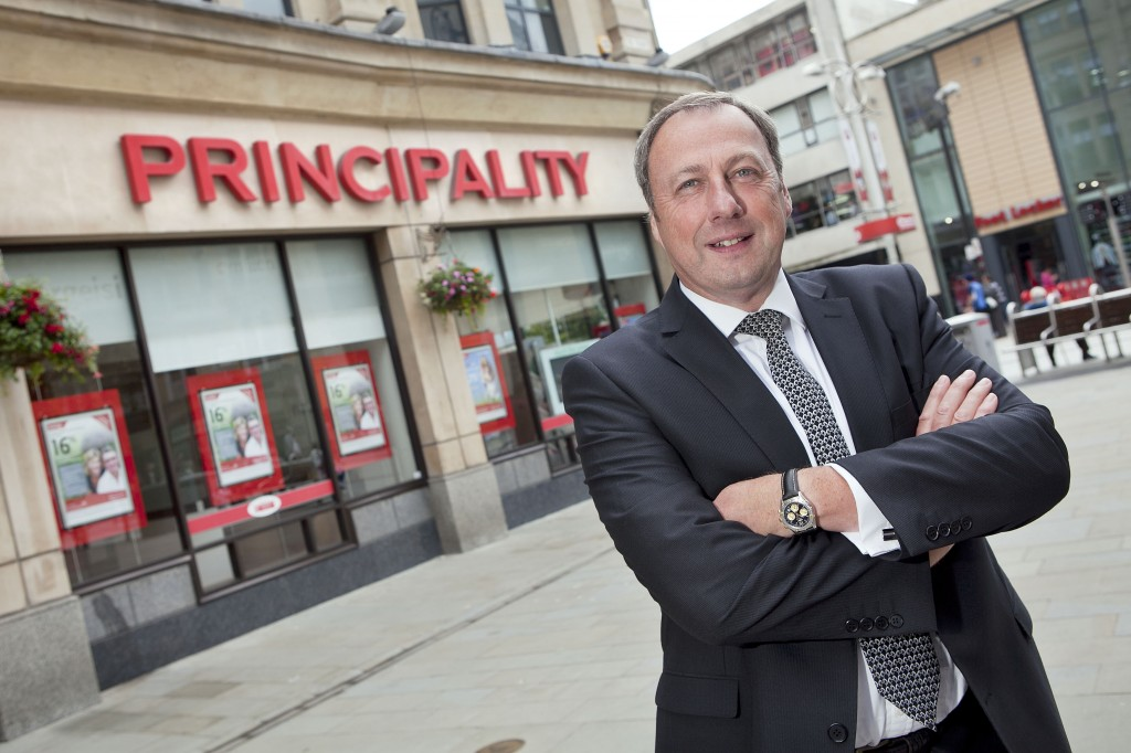 MORTGAGE BOOST: Principality group chief executive, Graeme Yorston