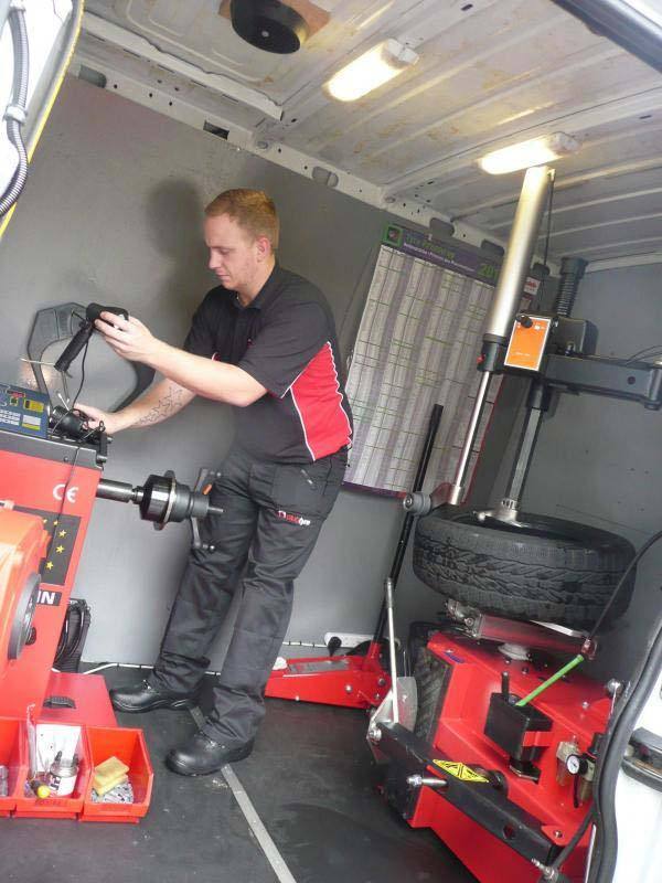New Caerphilly tyre company pumped for success   Business ...