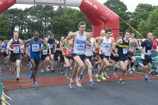 The Caerphilly 10k was first held in 2013