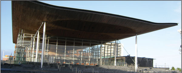 MORE POWER?: The Senedd in Cardiff Bay