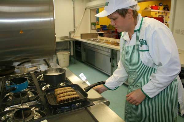 UK School Chef of the Year finalist Kate Davies