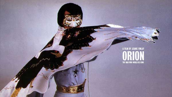 MAN IN THE MASK: Truth Department's next film is about the mysterious singer Orion, who many believed was Elvis Presley