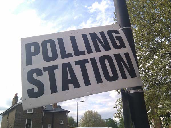 CAST YOUR VOTE: Polls are open from 7am to 10pm on May 22. Pic: James Cridland