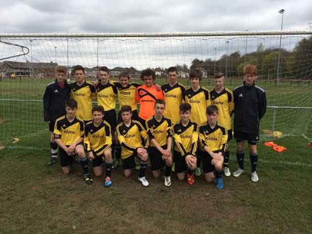 Caerphilly Schools AFC will Play Swansea in the final on May 17