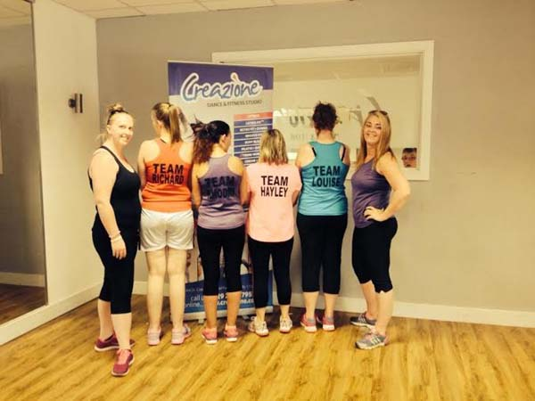 BEACH BUMS: Members of the Beach Body Challenge