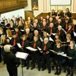 SINGING WITH FRIENDS: Caerphilly Community Chorus will perform with the Sborissimo Choir