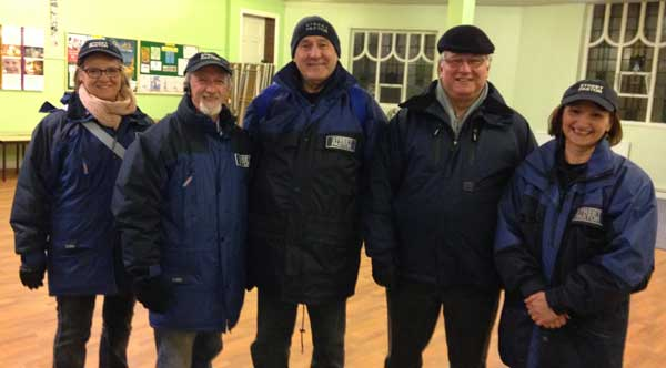 STREET LIFE: Blackwood's team of Street Pastors