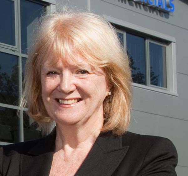 NEW CHAIR: Denise Lovering has been appointed Caerphilly Business Forum's new chairwoman