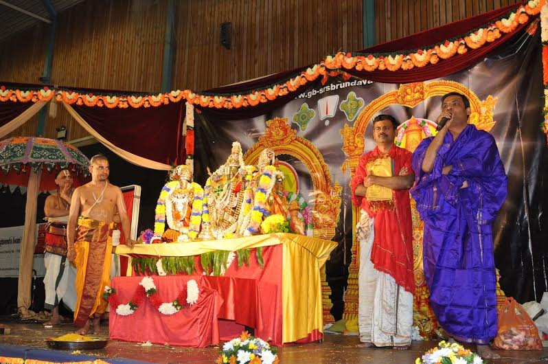 The festival of Sri Srinivasa Kalyanam will be held at Penyrheol Community Centre on Sunday