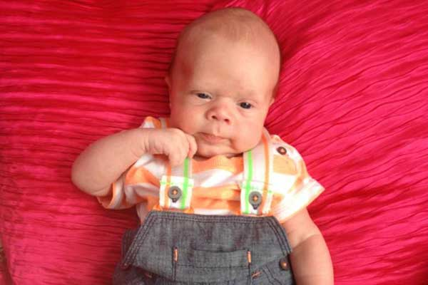 "TRAGIC: Six-week-old Alfie Sullock died of ""blunt trauma injury"""