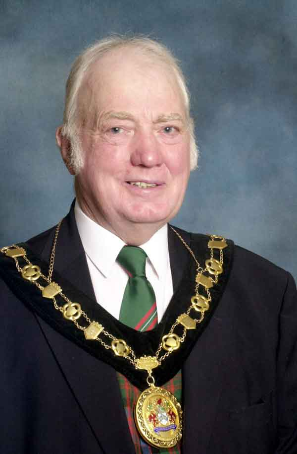 MR BEDWAS: Angus Donaldson passed away on July 27