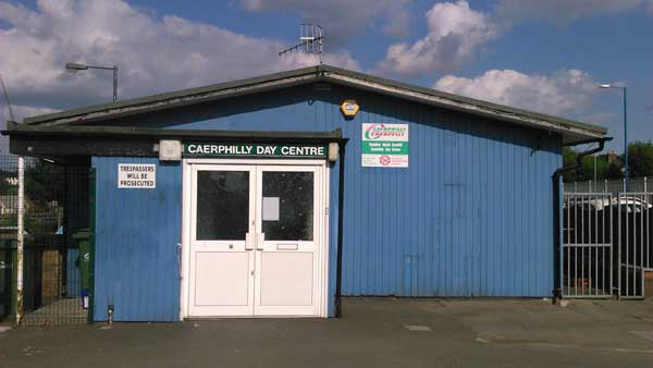 UNDER THREAT: Caerphilly Day Centre has around 70 users and could close