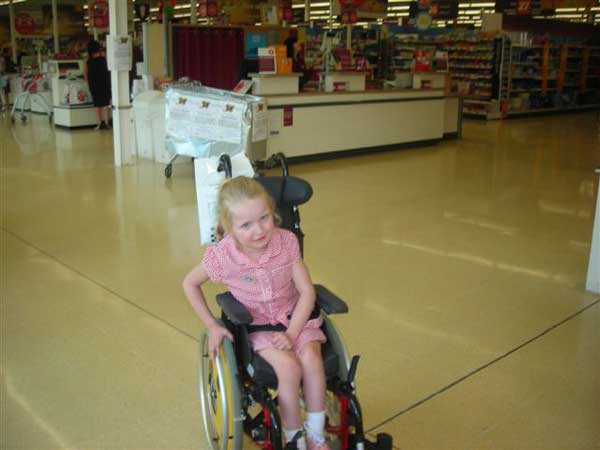 FOOTSTEPS FOR LIV: Olivia's charity was named Sainsbury's Pontllanfraith charity of the year